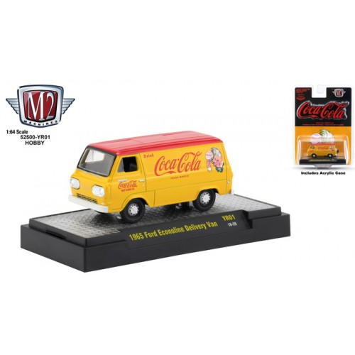 M2 Machines Coca-Cola - 1965 Ford Econoline Delivery Van