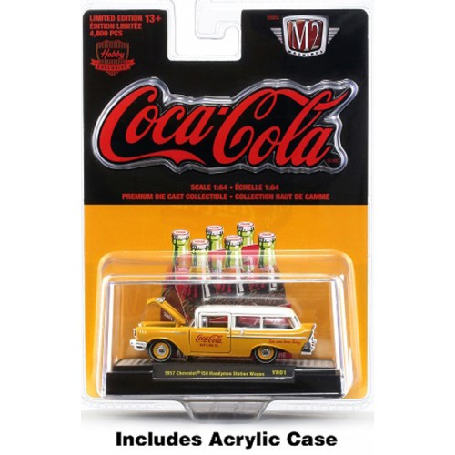 M2 Machines Coca-Cola - 1957 Chevy 150 Handyman Station Wagon