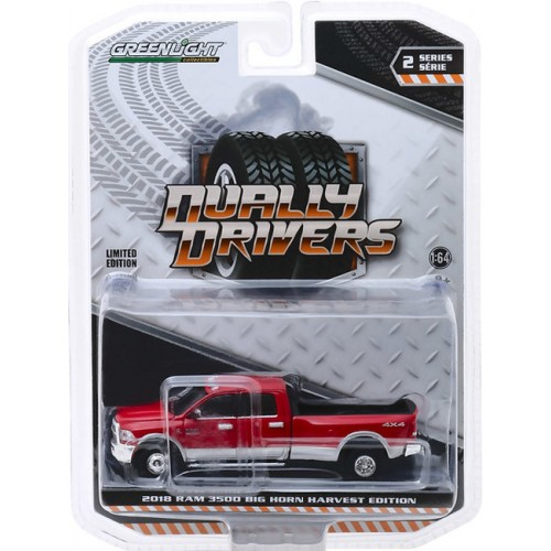 Greenlight Dually Drivers Series 2 - 2018 RAM 3500 Harvest Edition