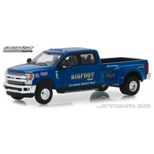 Greenlight Dually Drivers Series 2 - 2019 Ford F-350 Dually Bigfoot 1