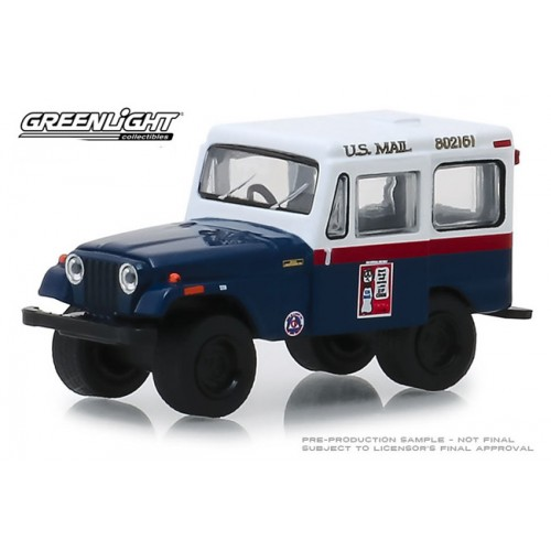 Greenlight Hobby Exclusive - 1974 Jeep DJ-5 U.S. Mail Civil Defense
