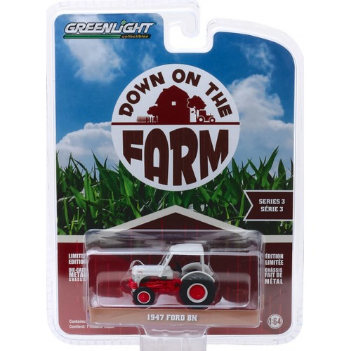 Greenlight Down On The Farm Series 3 - 1947 Ford 8N Tractor