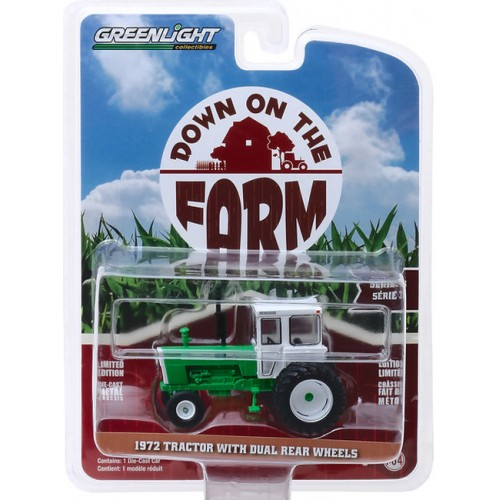Greenlight Down On The Farm Series 3 -  1972 Tractor with Dual Rear Wheels