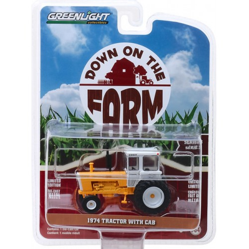 Greenlight Down On The Farm Series 3 - 1974 Tractor with Cab