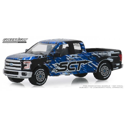 Greenlight Hobby Exclusive - 2017 Ford F-150 SCT Derive Systems