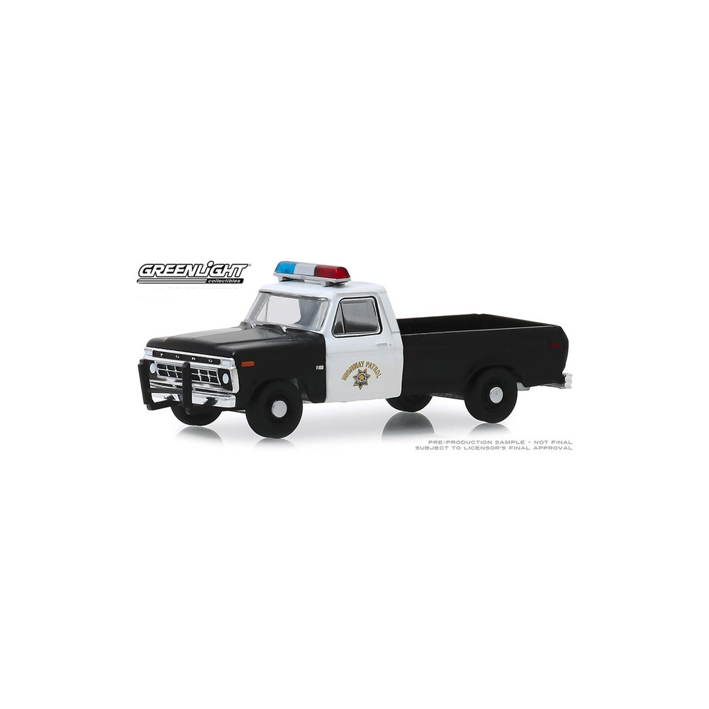 Greenlight Hobby Exclusive - 1975 Ford F-100 California Highway Patrol