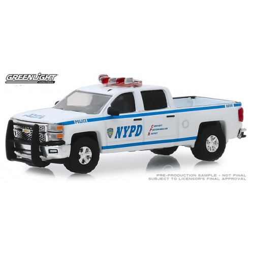 Greenlight Hobby Exclusive - 2015 Chevy Silverado NYPD