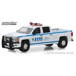 Greenlight Hobby Exclusive - 2015 Chevy Silverado NYPD