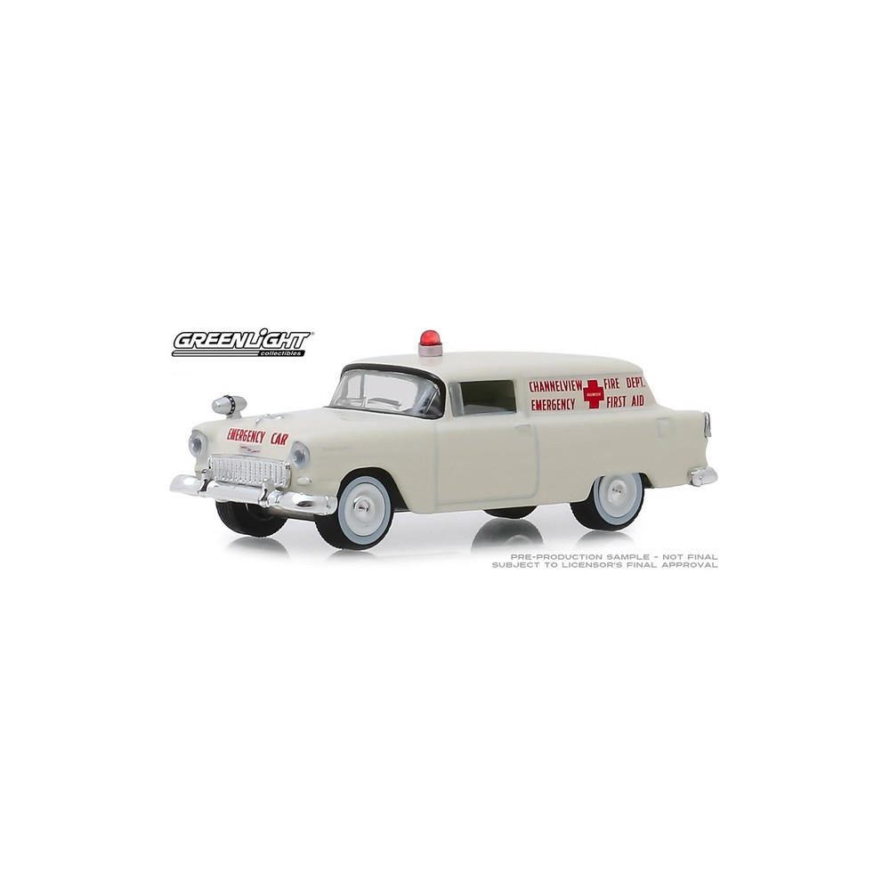 Greenlight Hobby Exclusive - 1955 CChevvy Sedan Delivery Emergency Car
