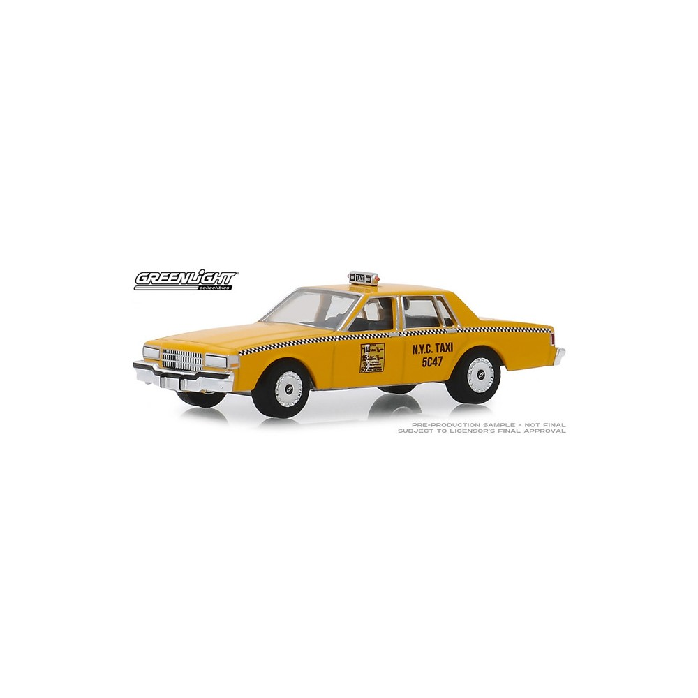 Greenlight Hobby Exclusive - 1987 Chevy Caprice New York City Taxi Cab
