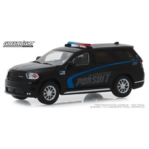Greenlight Hobby Exclusive - 2019 Dodge Durango Pursuit Police SUV Black