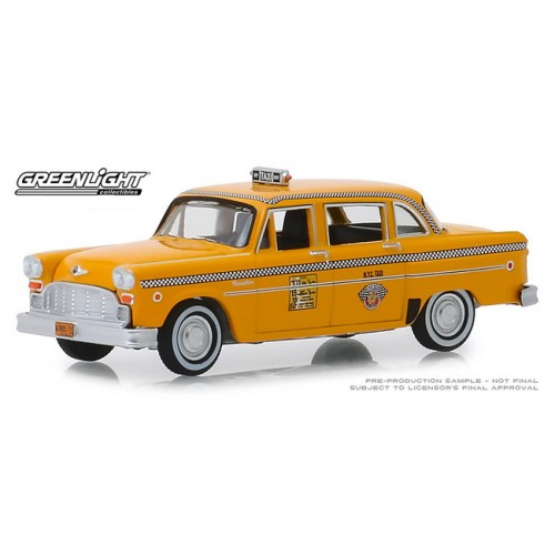 Greenlight Hobby Exclusive - 1981 Checker Motors Marathon A11 Taxi