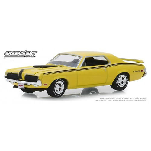 Greenlight Barrett-Jackson Series 4 - 1970 Mercury Cougar Eliminator 428 CJ