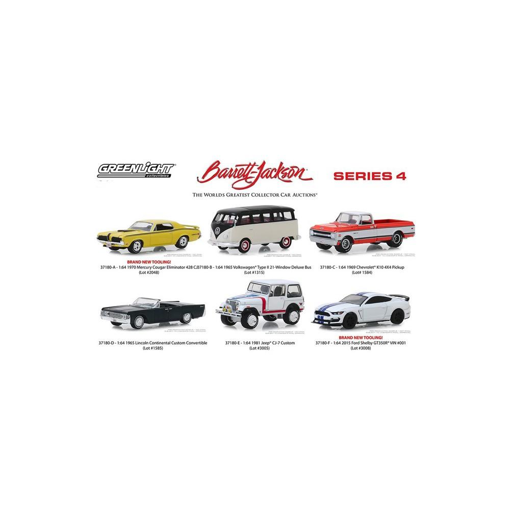 Greenlight Barrett-Jackson Series 4 - Six Car Set
