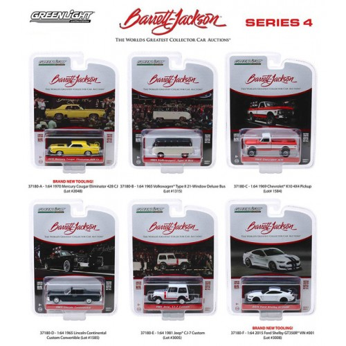 Greenlight Barrett-Jackson Series 4 - Six Car Set