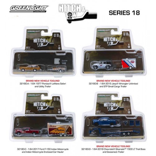 Greenlight Hitch and Tow Series 18 - Set