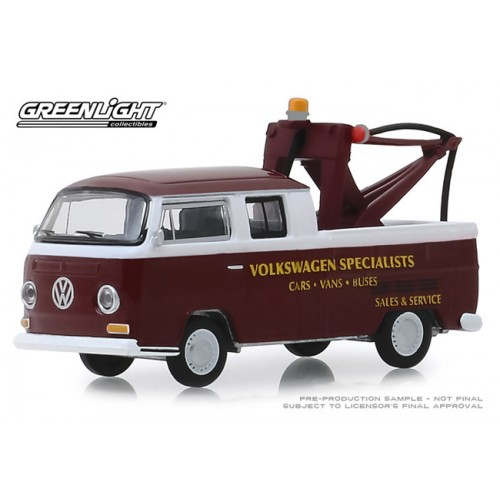Greenlight Blue Collar Series 6 - 1968 Volkwagen Type 2 Tow Truck