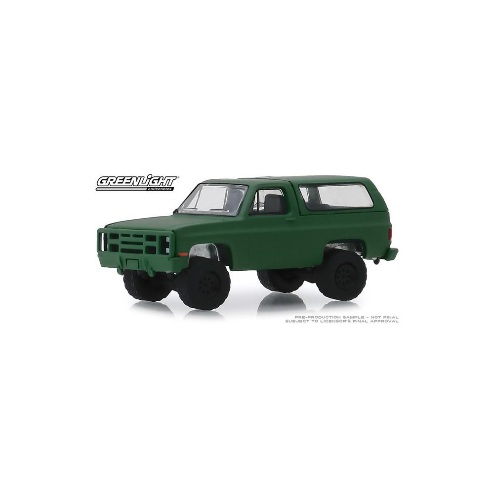 Greenllght Blue Collar Series 6 - 1988 Chevy K5 Blazer