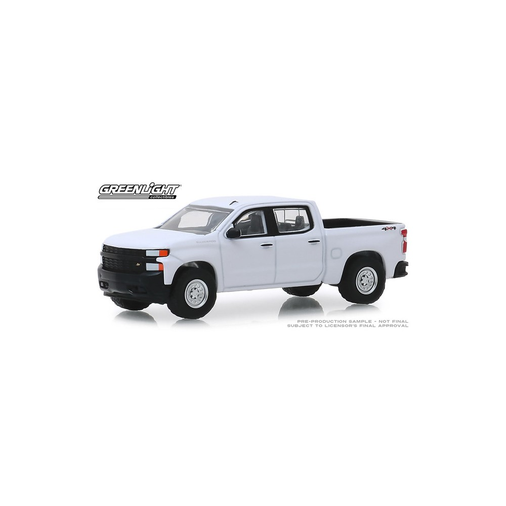 Greenlight Blue Collar Series 6 - 2019 Chevy Silverado 1500 WT