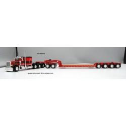 DCP Peterbilt 379 Tri-Axle with Fontaine Heavy Haul Lowboy Trailer