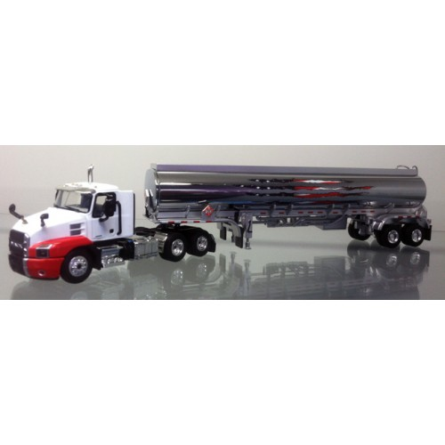 DCP Mack Anthem Day Cab with Fuel Tank Trailer