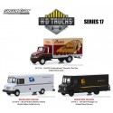 Greenlight H.D. Trucks Series 17 - Three Truck Set