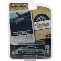 Greenlight Vintage Ad Cars Series 1 - 1972 AMC Javelin AMX