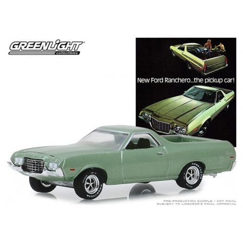 Greenlight Vintage Ad Cars Series 1 - 1972 Ford Ranchero