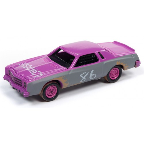 Johnny Lightning Street Freaks - 1977 Chevrolet Monte Carlo Stock Car
