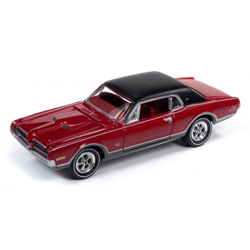 Johnny Lightning Muscle Cars - 1968 Mercury Cougar GTE