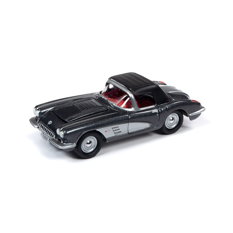 ng114 Johnny lightning muscle cars usa 1958 chevy corvette convertible