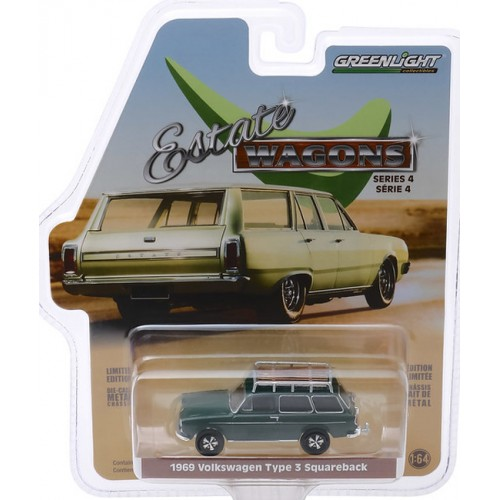 Greenlight Estate Wagons Series 4 - 1969 Volkswagen Type 3 Squareback
