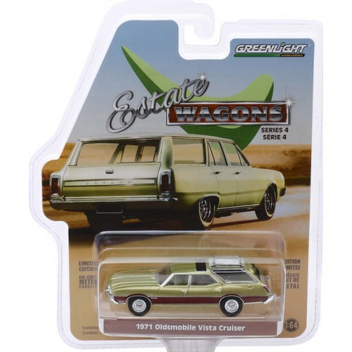 Greenlight Estate Wagons Series 4 - 1971 Oldsmobile Vista Cruiser