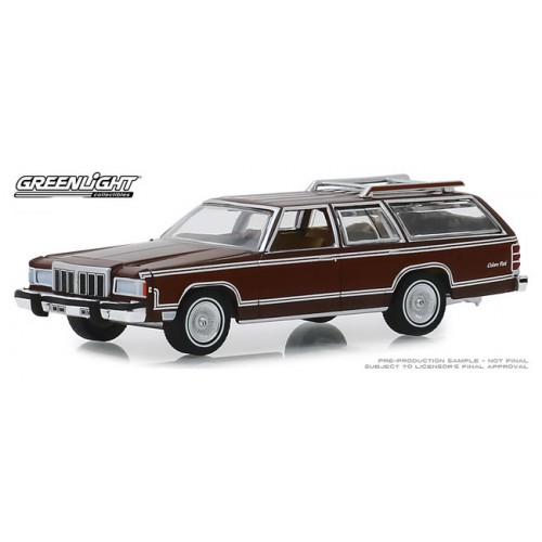 Greenlight Estate Wagons Series 4 - 1980 Mercury Grand Marquis Colony Park