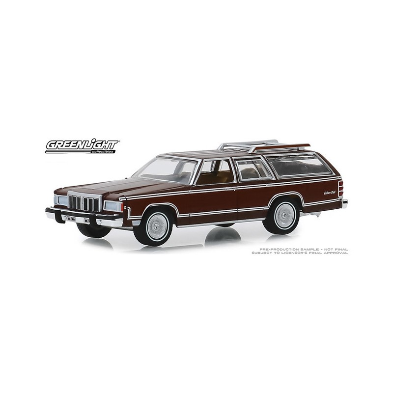 Greenlight Estate Wagons  1980 Mercury Grand Marquis station wagon