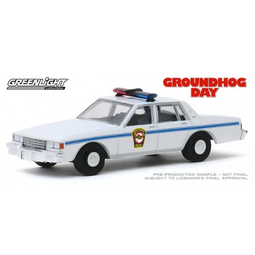 Greenlight Hollywood Series 26 - 1980 Chevy Caprice Police Groundhog Day