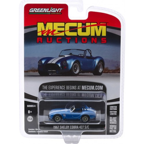 Greenlight Mecum Auctions Series 4 - 1967 Shelby 427 SC Cobra Roadster