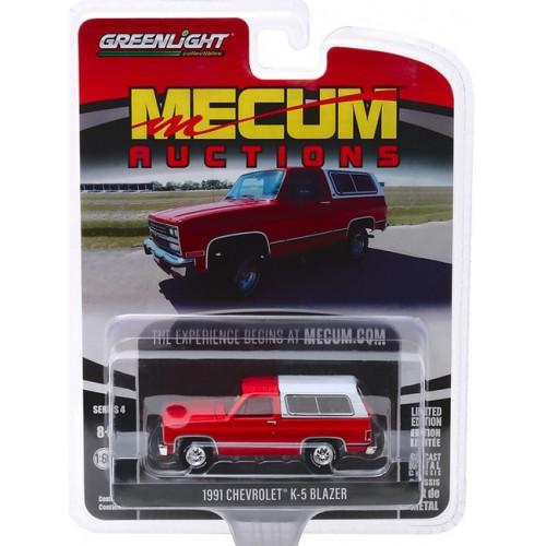 Greenlight Mecum Auctions Series 4 - 1991 Chevy K5 Blazer