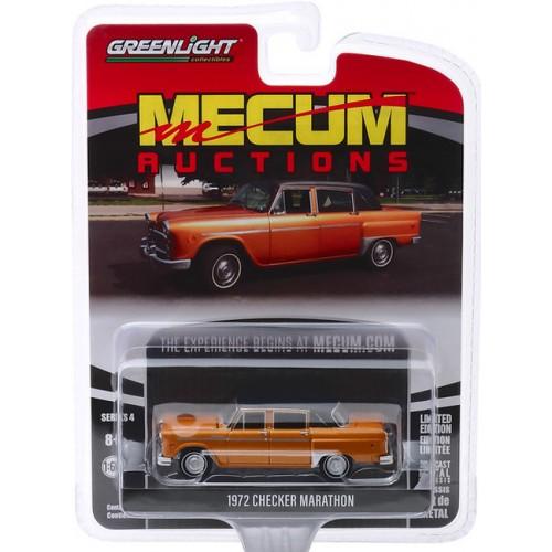 Greenlight Mecum Auctions Series 4 - 1972 Checker Marathon