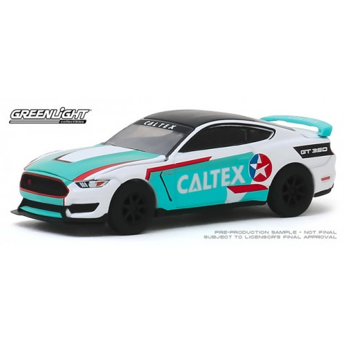 Greenlight Hobby Exclusive - 2019 Ford Shelby GT350R Caltex Racing