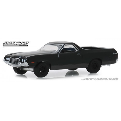 Greenlight Black Bandit Series 22 - 1972 Ford Ranchero