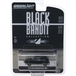 Greenlight Black Bandit Series 22 - 1976 Volkswagen Golf MK1