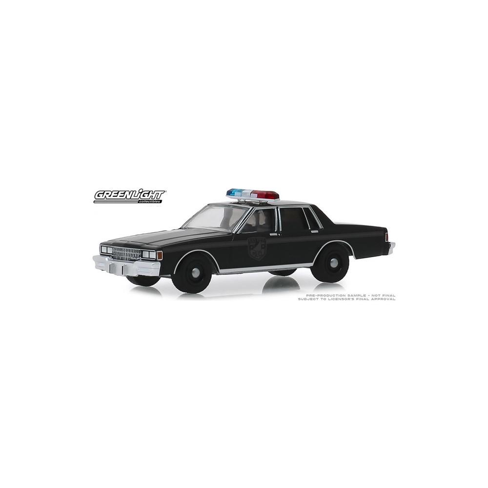 Greenlight Black Bandit Series 22 - 1980 Chevy Caprice Police Car