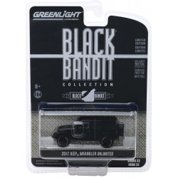 Greenlight Black Bandit Series 22 - 2017 Jeep Wrangler Unlimited