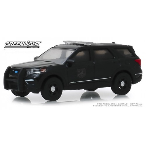 Greenlight Black Bandit Series 22 - 2020 Ford Police Intercepter Utility