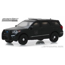 Greenlight Black Bandit Series 22 - 2020 Ford Police Intercepter Utility