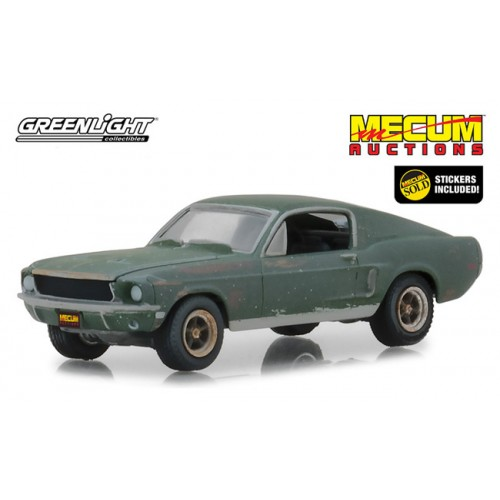 Greenlight Hobby Exclusive - Unrestored 1968 Ford Mustang GT Fastback