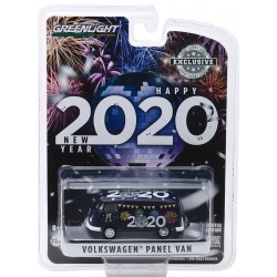 Greenlight Hobby Exclusive - Volkswagen Type 2 Panel Van Happy New Year