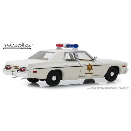 Greenlight 1:24 Scale - 1975 Dodge Monaco Hazzard County Sheriff