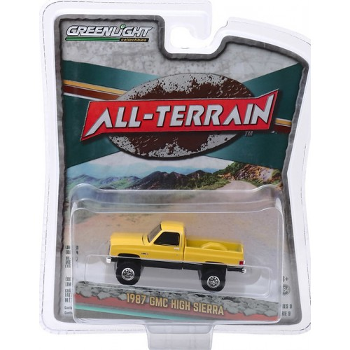 Greenlight All-Terrain Series 9 - 1987 GMC High Sierra